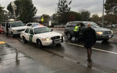 Emergency services, reporters and police surround Osher Marin Jewish Community Center
