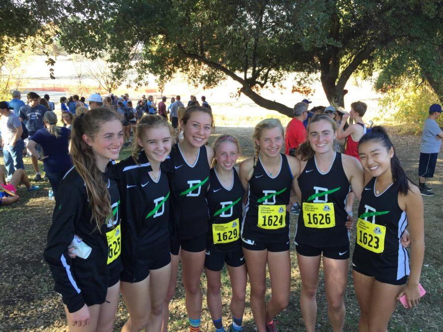 The girls team poses after placing 16th at state championships.