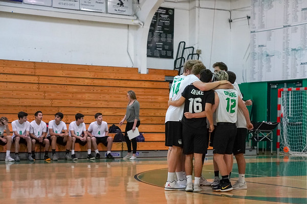 The team before facing of against Redwood in league play.