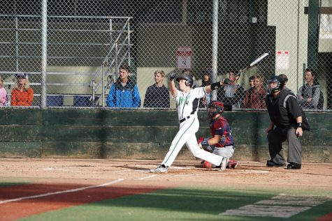 Lance hits one of his 11 home runs of the 2018 season to help propel the team to an 8-0 win over Campolindo in preseason play.