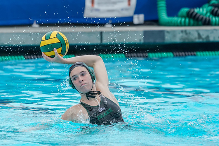 Kate McCarthy shoots in a league game against San Marin. McCarthy will play for UCLA next fall.