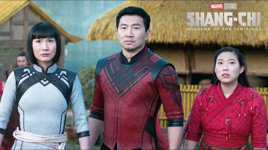 Shang-Chi+%28Simu+Liu%29%2C+Katy+%28Awkwafina%29+and+Xialing+%28Meng%E2%80%99er+Zhang%29+star+in+Shang-Chi%2C+the+latest+movie+in+the+Marvel+Cinematic+Universe%2C+and+the+first+featuring+an+almost+entirely+Asian-American+cast.+