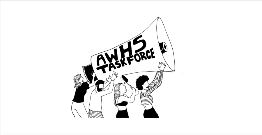 AWHS task force works to raise awareness about sexual harassment across campus.